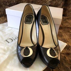 Christian Dior Cannage Lambskin Heels